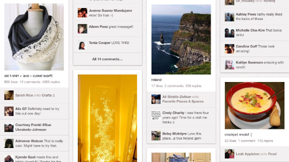 """Pinterest, the web-based """"pinboard"""", which launched almost two years ago, barely got a mention until 6 months ago."""