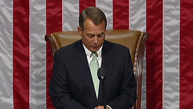 Boehner speaks on 'what not to wear'