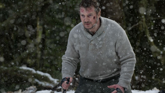"""Sixty-seven percent of moviegoers listed Liam Neeson as the reason they purchased a ticket to """"The Grey."""""""