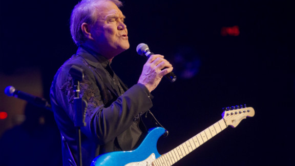 Glen Campbell performs during The Goodbye Tour in early January in Nashville, Tennessee.