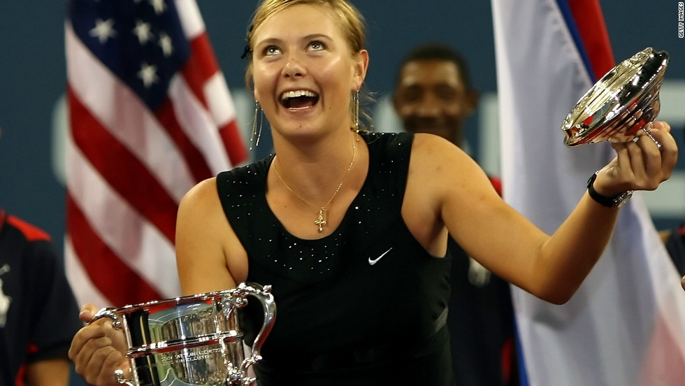 "In 2006, Sharapova made heads turn with her ""Little Black Dress"" -- an outfit encrusted with beaded crystals which she wore as she claimed the U.S. Open crown."