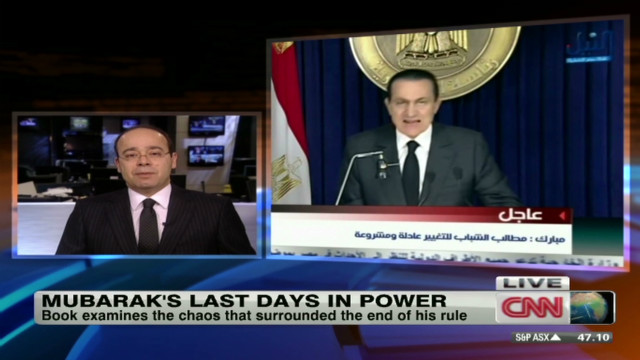 The last days of Hosni Mubarak's regime