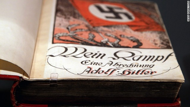 "The Bavarian state government has repeatedly blocked republication of Adolf Hitler's anti-Semitic book ""Mein Kampf."""