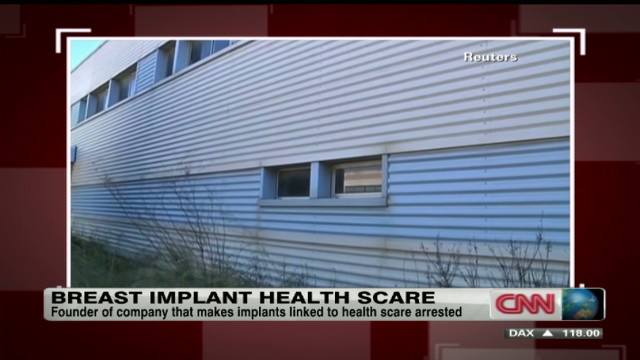 Breast implant health scare
