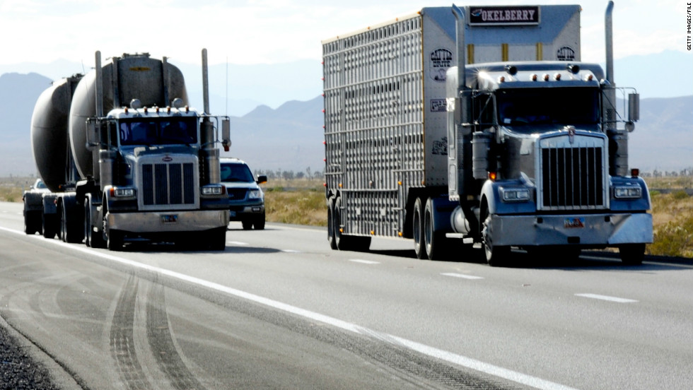 About 11 million large trucks drive the nation's highways, according to federal statistics. TSA teams sometimes join local and state law enforcement to patrol the nation's approximately 1,200 trucking weigh stations.