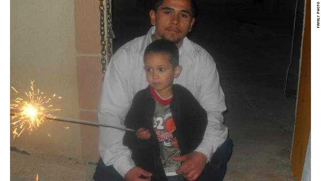 Jake Reyes-Neal moved to Juarez, Mexico, with his son, Anthony, to protect his wife.