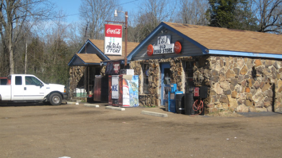 The Old Road Store, where Joseph Ozment admits he gunned down Rick Montgomery.