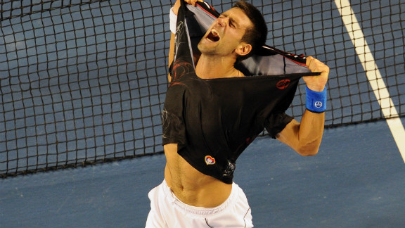 Djokovic fought his way past Nadal in of tennis