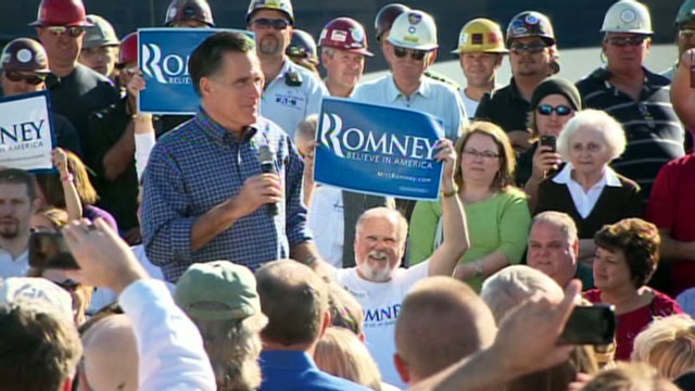 Romney stays on offense in Florida