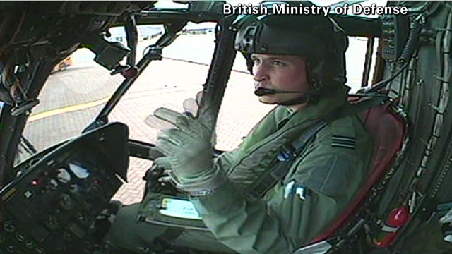 Tension over Prince William in Falklands