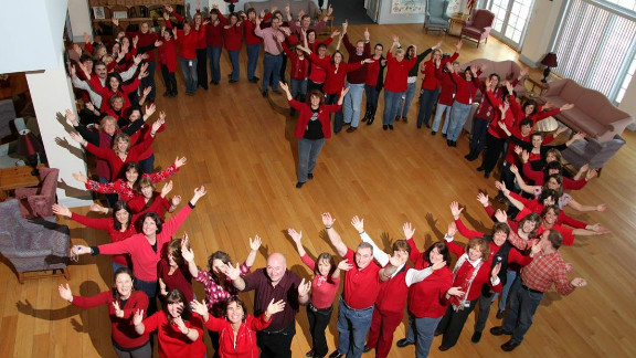 Friday, February 3 is National Wear Red Day, a part of the American Heart Association