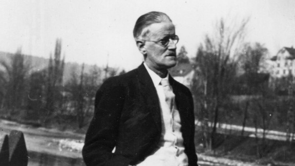 """James Joyce, the author of """"Ulysses,"""" is seen 1938. """"Ulysses"""" has entered the public domain."""