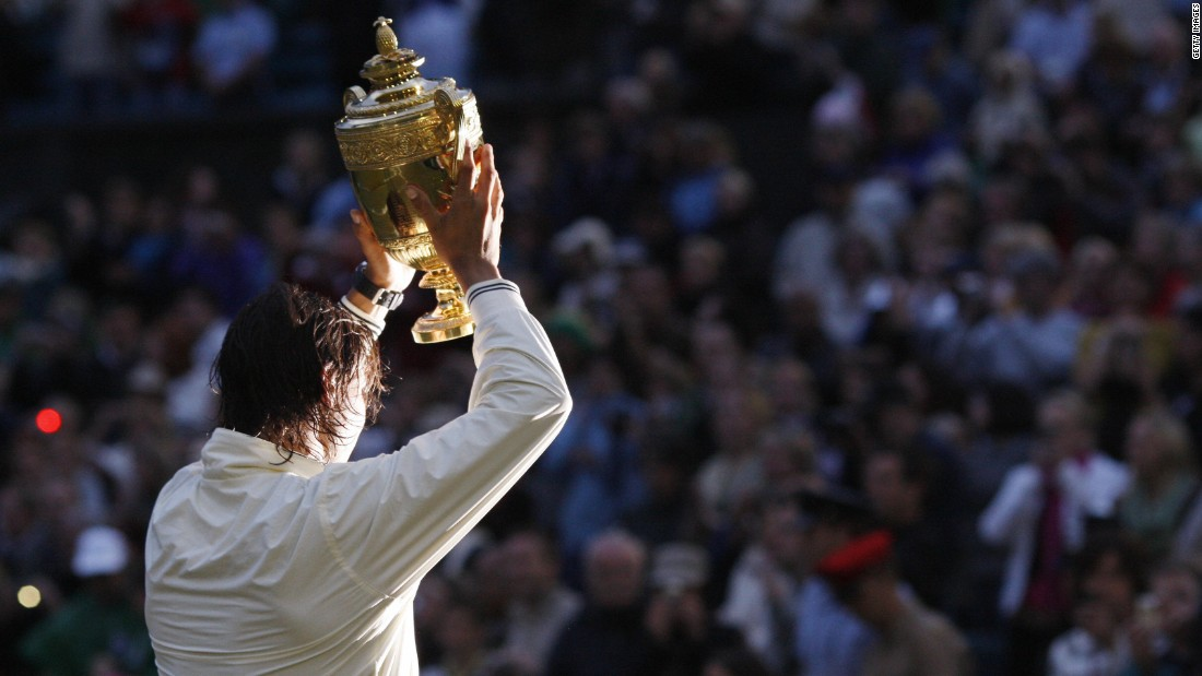 Nadal celebrated his first Wimbledon title in 2008, after beating Roger Federer in the longest final in tournament history. Many consider it to be the greatest match of all time. Federer has two Wimbledon titles to his name, while reaching five finals so far.