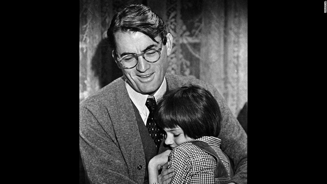 English Essay Writing Examples Gregory Peck And Mary Badham As Atticus And His Daughter Scout How To Write A Good Thesis Statement For An Essay also Sample Of Synthesis Essay At  To Kill A Mockingbird Is Now An Ebook  Cnn First Day Of High School Essay