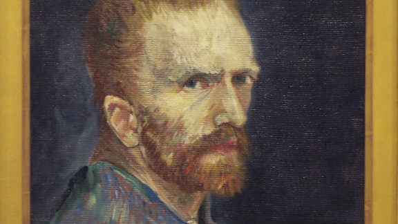 Van Gogh is thought to have painted the first picture, of wrestlers, in January 1886, while studying at the art academy in Antwerp. He is believed to have painted over it with the still life just a few months later.