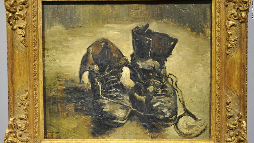 Van Gogh Peasant Shoes