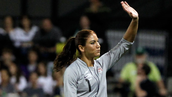 Hope Solo was part of the U.S. national women