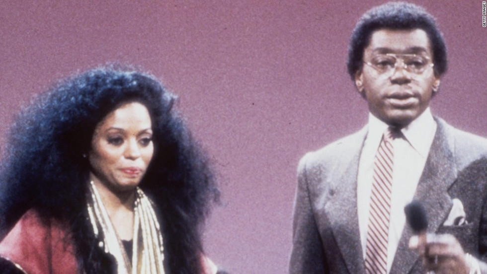 Cornelius with Diana Ross on the show.