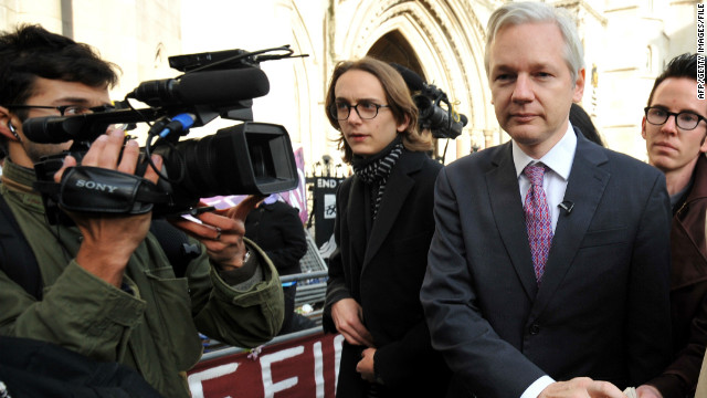 Friend says Assange 'running for justice'