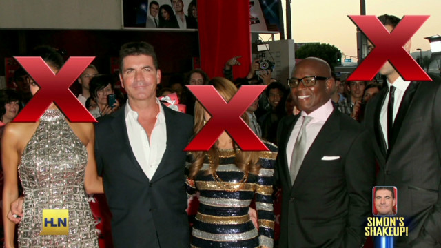 Simon Cowell cleans house on 'X Factor'