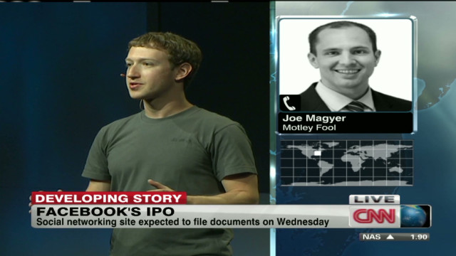 Possible Facebook IPO Wednesday