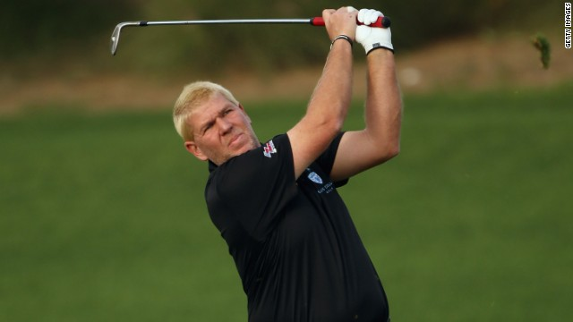 "John Daly described conditions on day one of the Qatar Masters as ""brutal"" after sandstorms raged on the course."