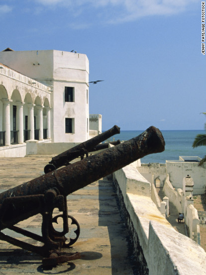 Inside Elmina Castle is a haunting reminder of its grim past