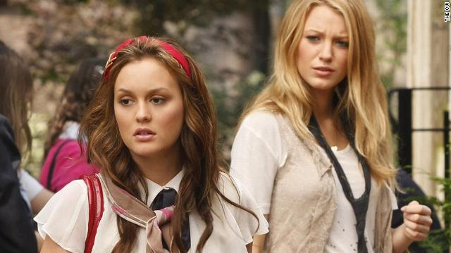 Blair (Leighton Meester) and Serena (Blake Lively) wore school uniforms a lot during the series' first two seasons.