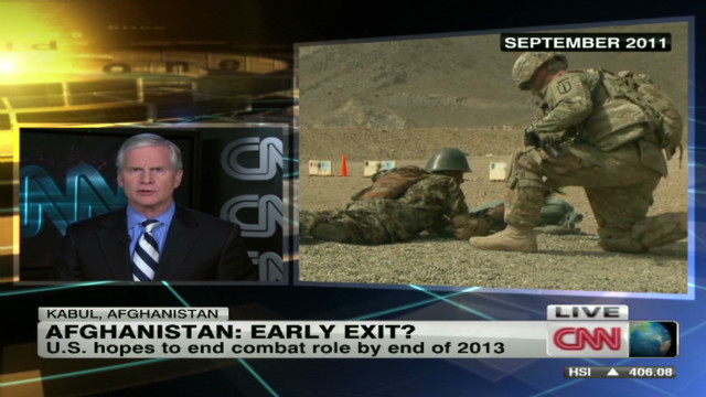 Afghanistan: Early exit?