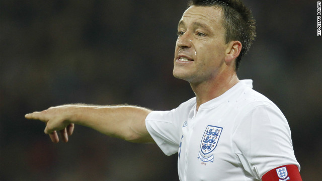John Terry last captained England during a friendly match against Sweden in November.