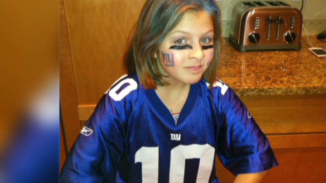 11-year-old girl a Giants 'superfan'