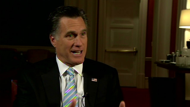 Romney: 'I misspoke' about poor