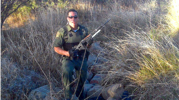 Border Patrol agent Brian Terry was killed in a gunbattle with drug cartel members in 2010 on the Arizona border with Mexico.