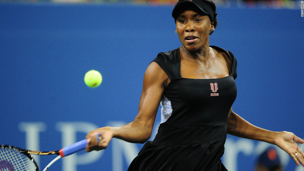 One of Azarenka's opponents could be seven-time grand slam winner Venus Williams, who will be playing in her first competitive match since pulling out of the U.S. Open at the end of August. Williams has struggled for fitness since being diagnosed with an autoimmune disease.