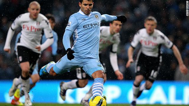 Aguero And Dzeko Fire Man City To Victory