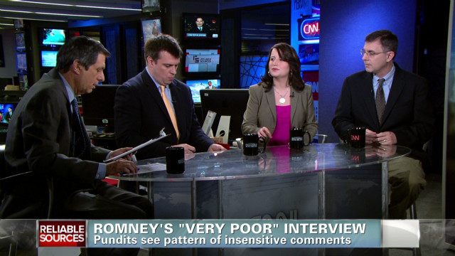 Romney's 'very poor' interview