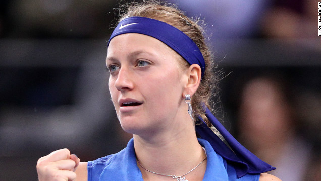 Petra Kvitova inspired holders Czech Republic to a 4-1 Fed Cup victory over Germany.