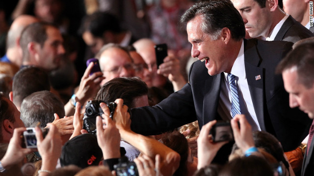 Mitt Romney scored his second straight victory, with a win Saturday in the Nevade caucus.