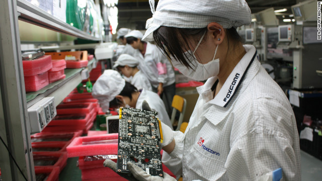 Foxconn audit shows 'excessive overtime'