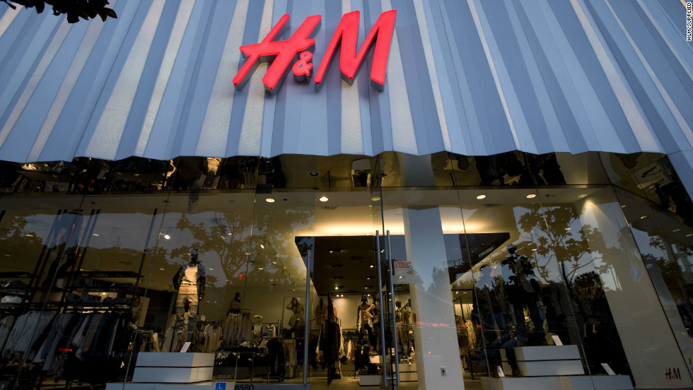 H&M is an affordable Swedish brand which has contributed to the country's rising export sales.