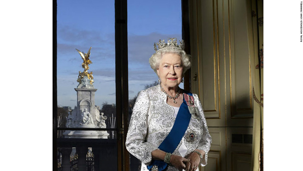 This specially commissioned photograph of the queen was released by Buckingham Palace to mark the Diamond Jubilee.