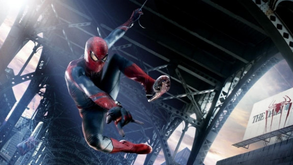 """""""The Amazing Spider-Man"""" easily swung into first place at the weekend box office."""