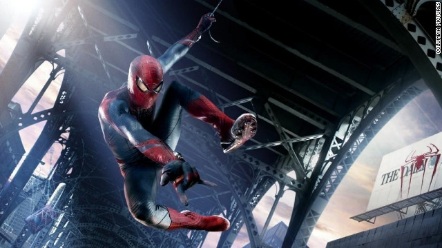 """The Amazing Spider-Man"" comes out on Blu-ray on Friday."