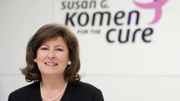Karen Handel had served in her position at Komen since April.