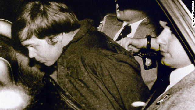 John Hinckley Jr. shot President Ronald Reagan and three other men in Washington on March 30, 1981.