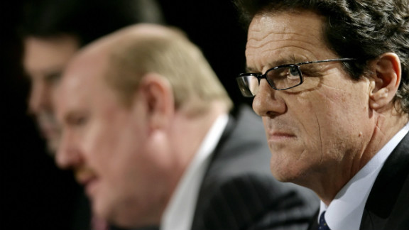 Capello was appointed England manager in December 2007 after coaching huge clubs such as Real Madrid, Roma, Juventus and AC Milan.