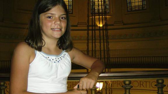 Elizabeth K. Olten, 9, was killed by her neighbor in Missouri in October 2009.