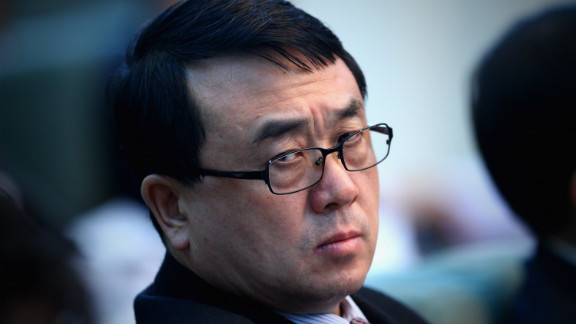 A file image of Wang Lijun at the National People