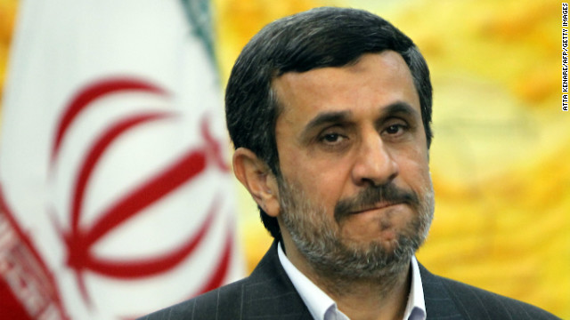 """Eight years are enough,"" Iran's President Mahmoud Ahmadinejad told Germany's Frankfurter Allgemeine Sonntagszeitung."