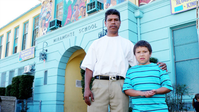 Sergio Blanco, 42, had to ask his son, Andrew, 9, a third-grader, whether he was molested by his teachers.